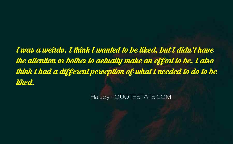 Quotes About Halsey #526474