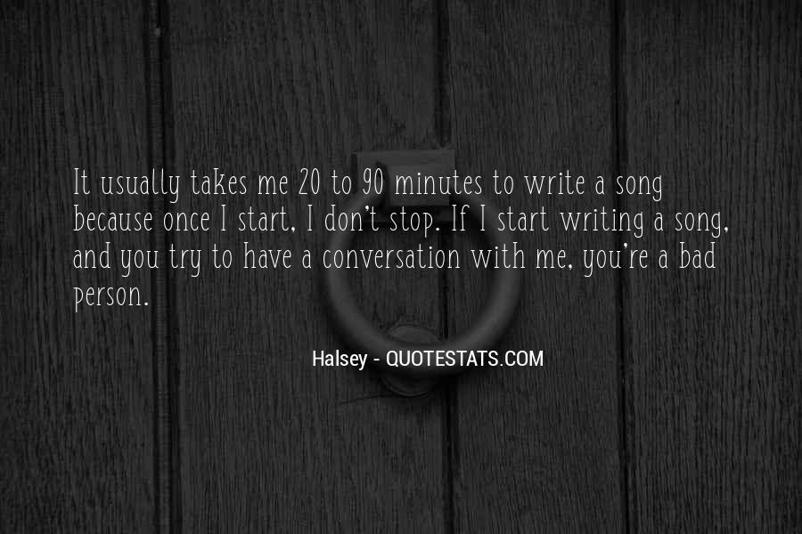 Quotes About Halsey #740055