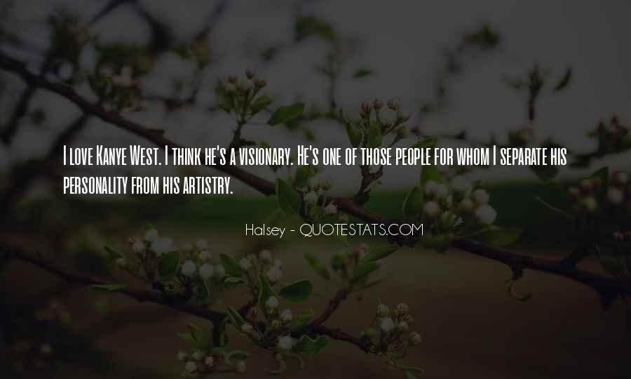 Quotes About Halsey #804969