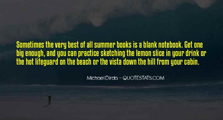 Quotes About Summer At The Beach #1086170