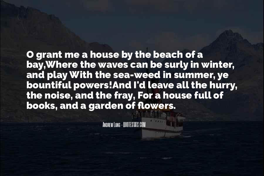 Quotes About Summer At The Beach #116471