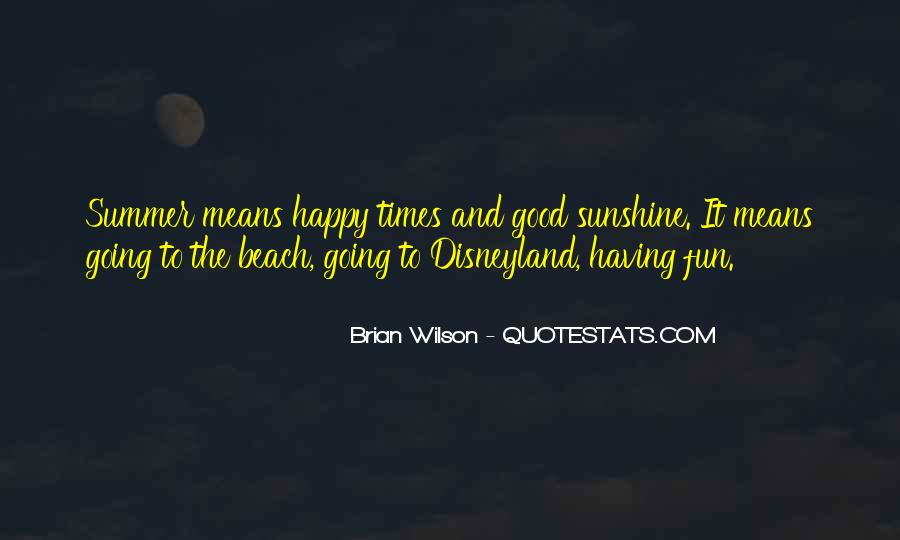 Quotes About Summer At The Beach #1203102