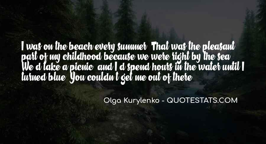 Quotes About Summer At The Beach #221465