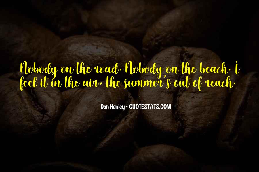 Quotes About Summer At The Beach #235528