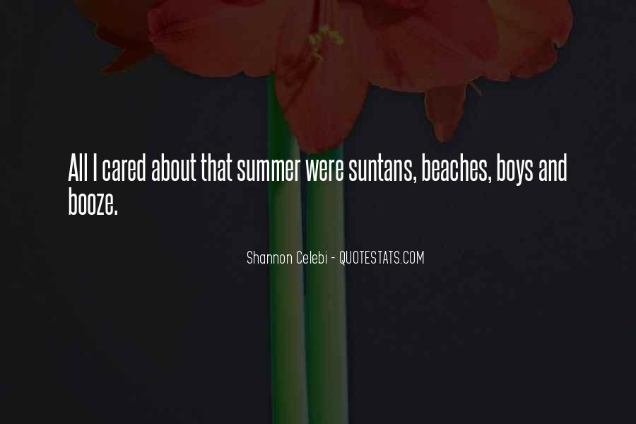 Quotes About Summer At The Beach #751721