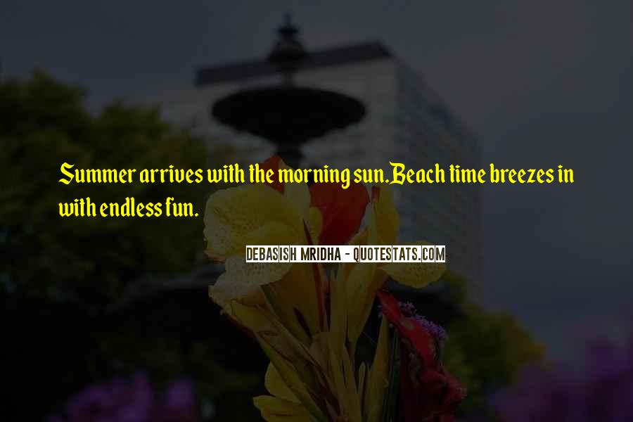 Quotes About Summer At The Beach #892398
