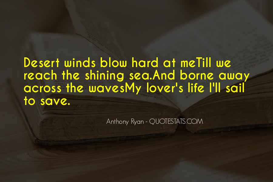 Sail Away With Me Quotes #277343