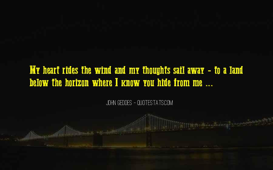 Sail Away With Me Quotes #869507