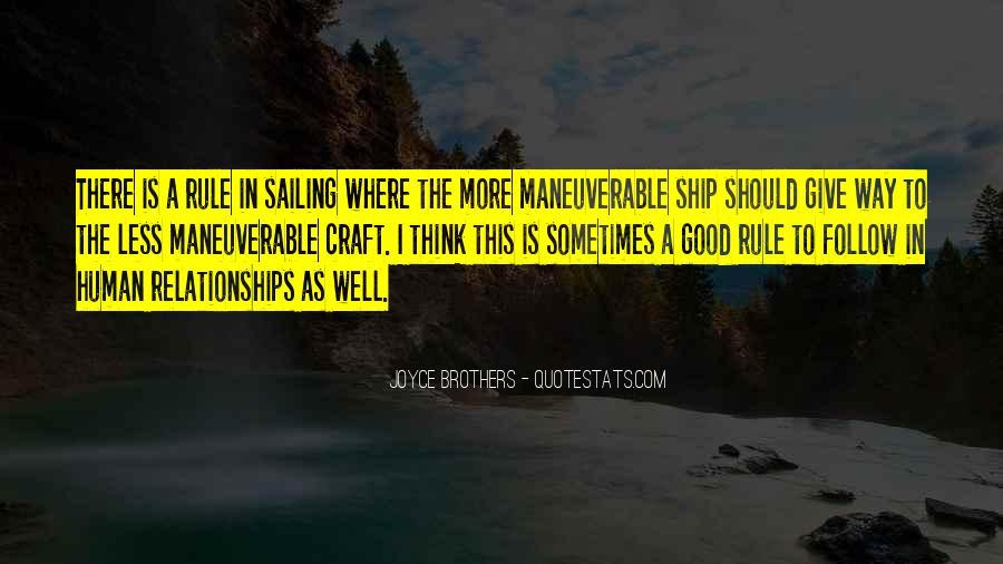 Sailing Ship Quotes #1352135