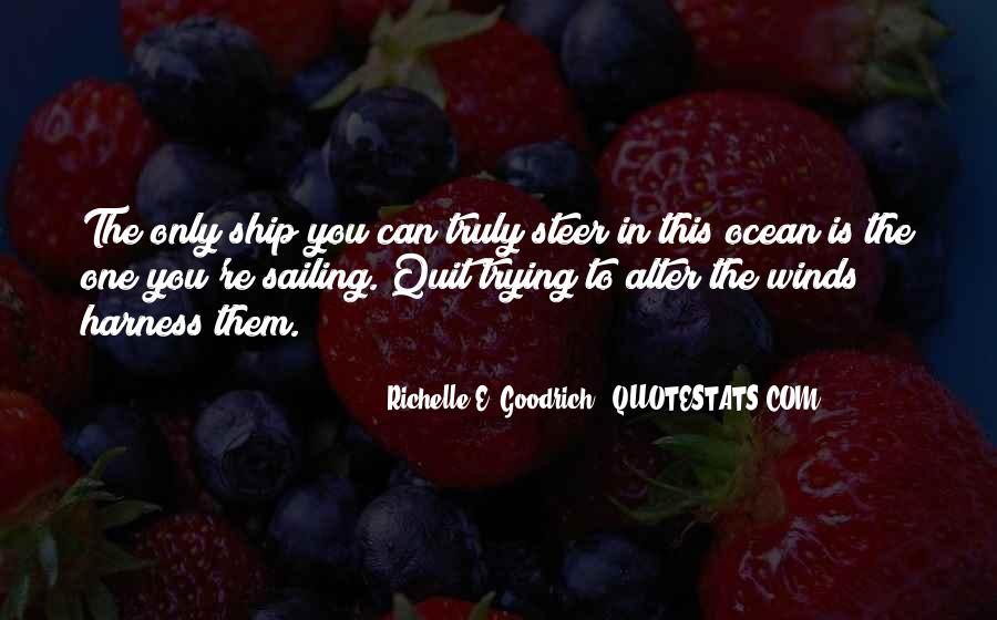 Sailing Ship Quotes #22800