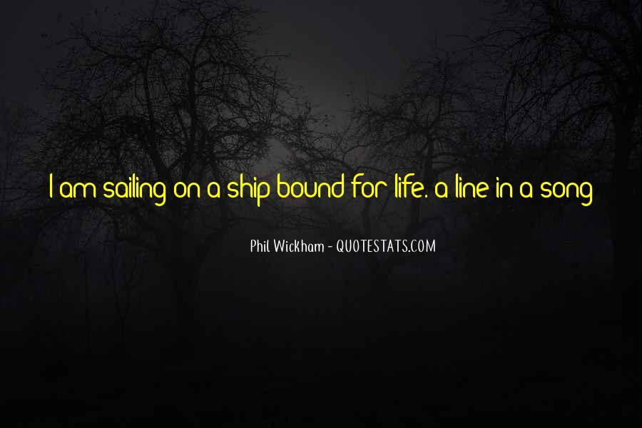 Sailing Ship Quotes #72811