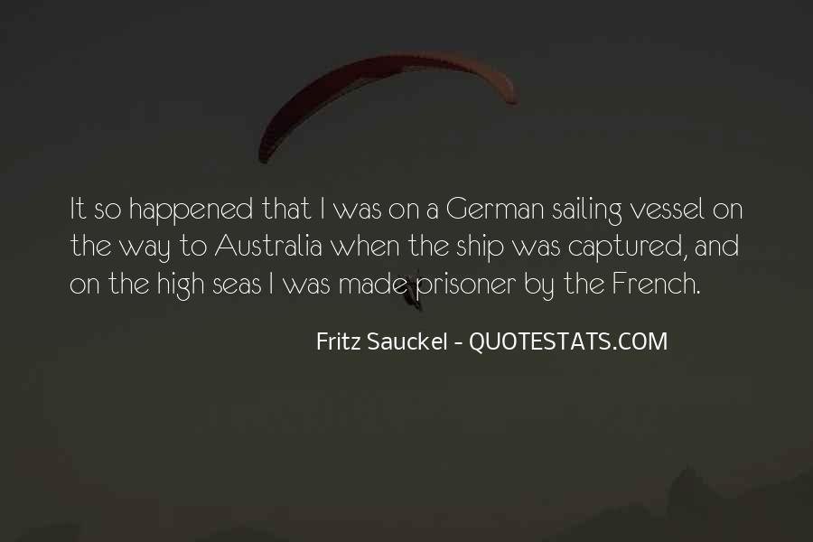 Sailing Ship Quotes #821646