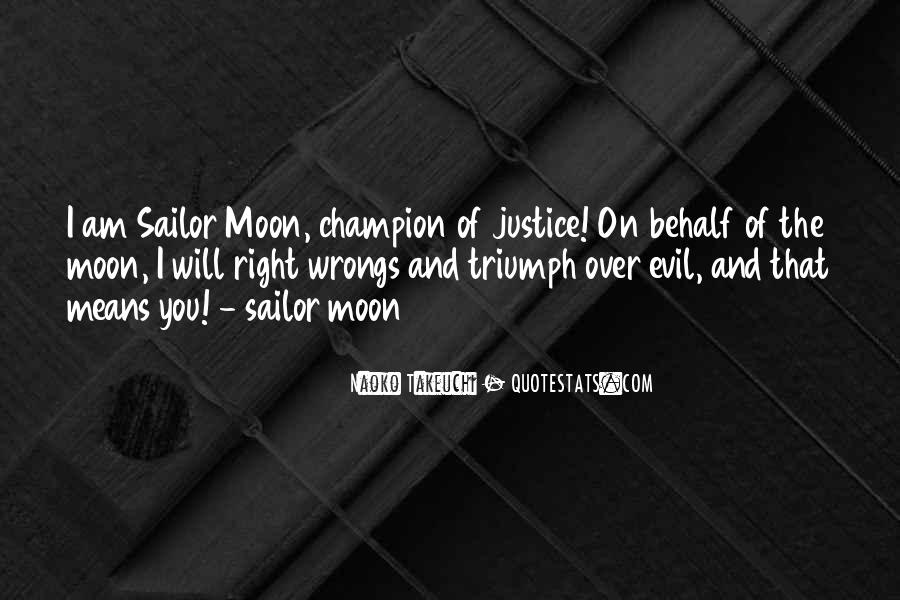 Sailor Moon Moon Quotes #1750422