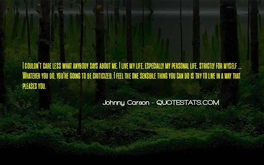 Quotes About Johnny Carson #129506