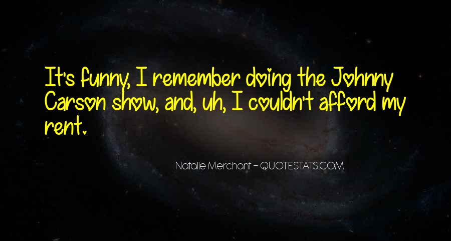 Quotes About Johnny Carson #194582