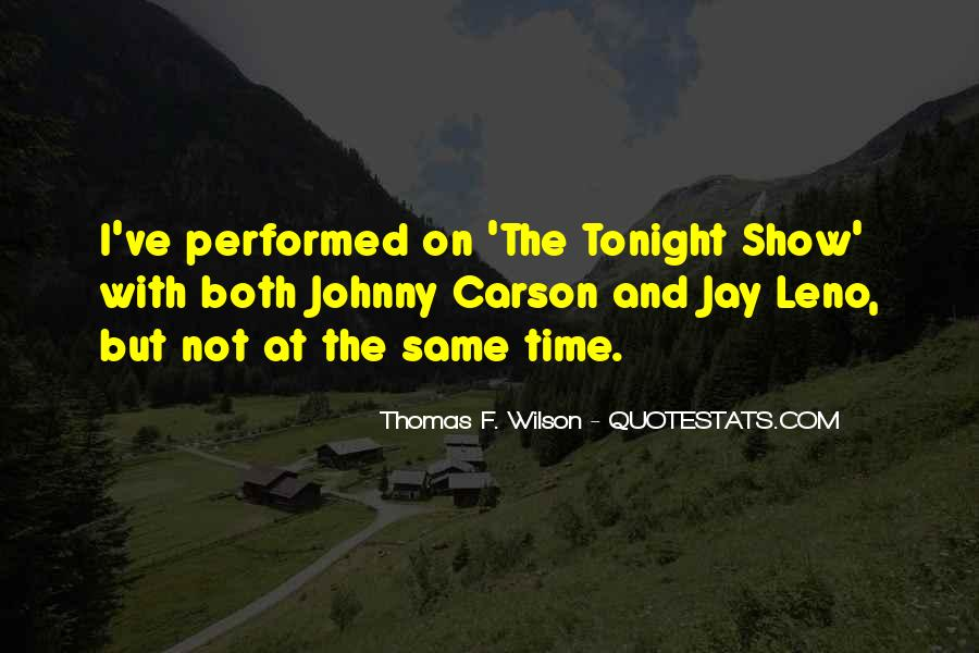 Quotes About Johnny Carson #271324