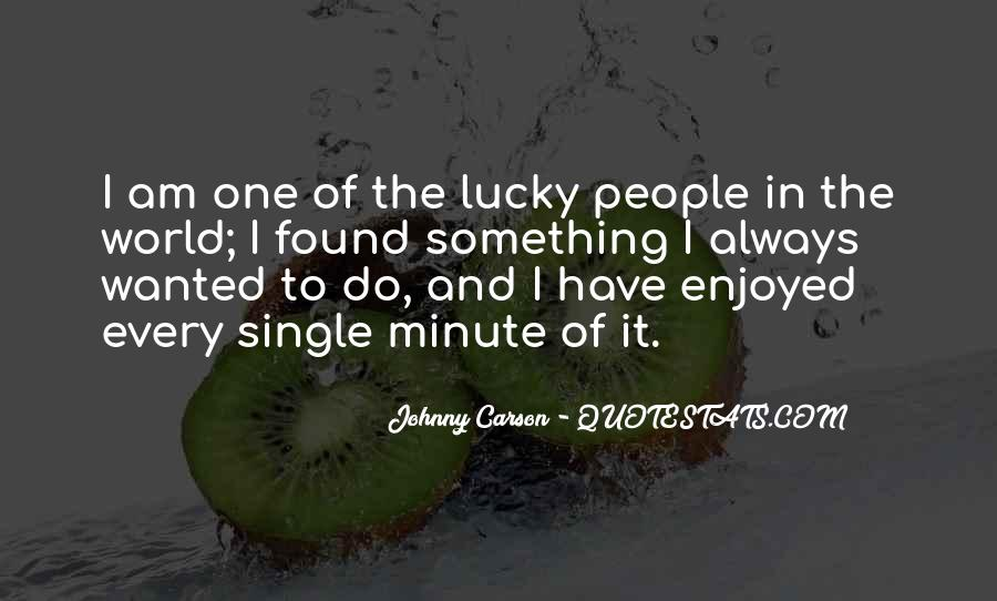 Quotes About Johnny Carson #349289