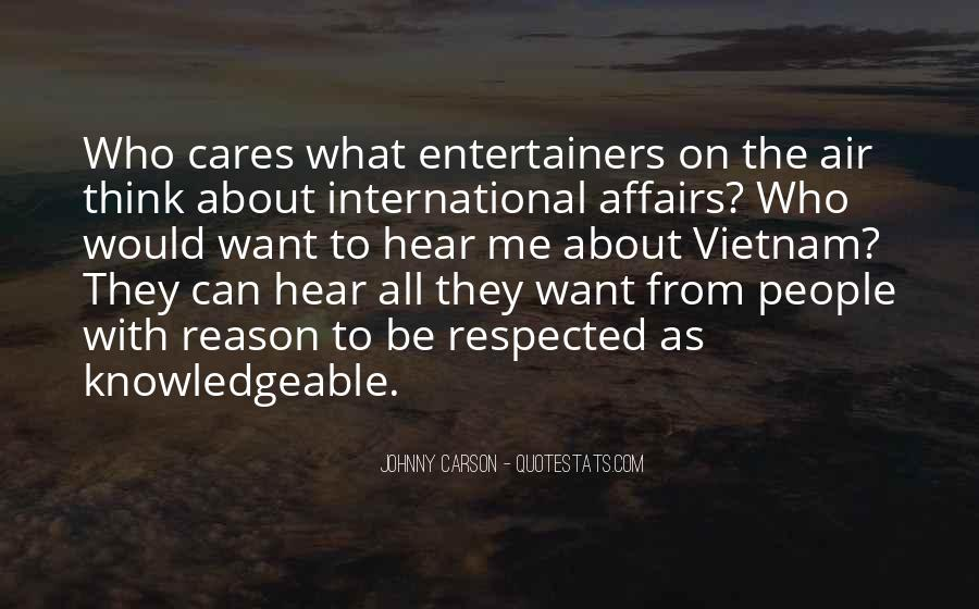 Quotes About Johnny Carson #419773