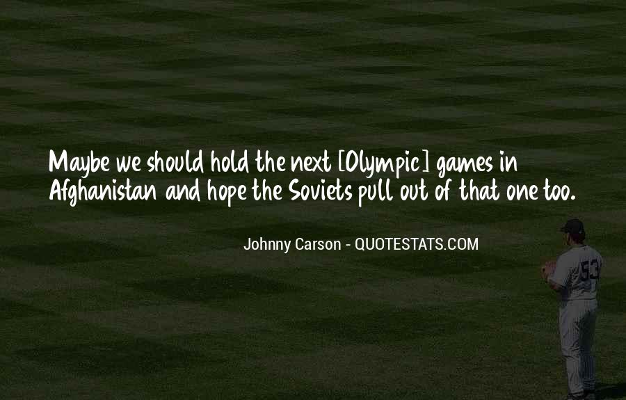 Quotes About Johnny Carson #435393