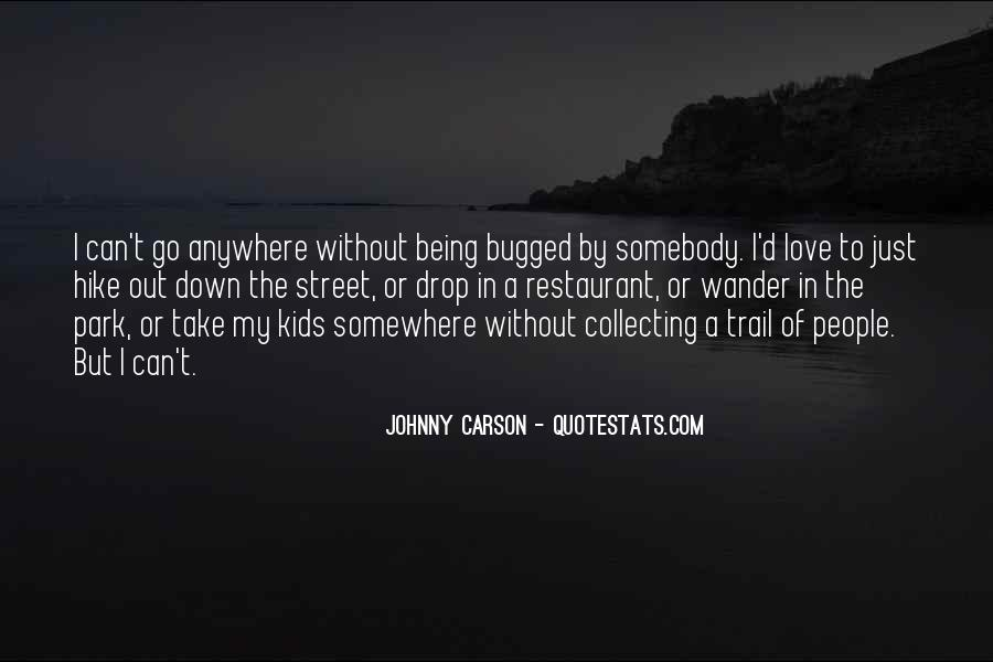 Quotes About Johnny Carson #546541