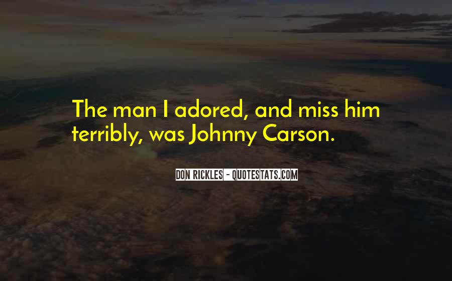 Quotes About Johnny Carson #638766