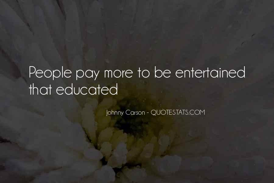 Quotes About Johnny Carson #723375