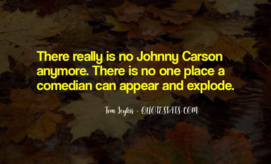 Quotes About Johnny Carson #735304