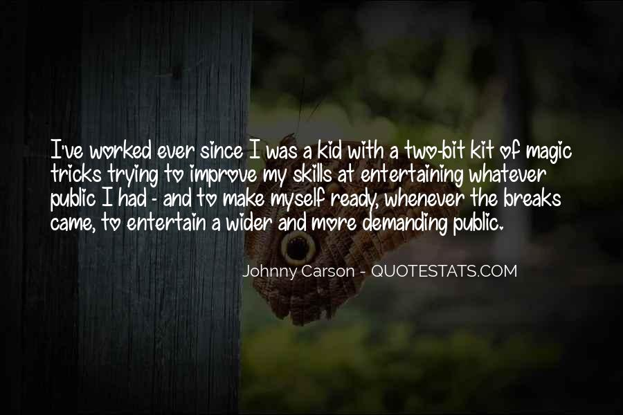 Quotes About Johnny Carson #774627