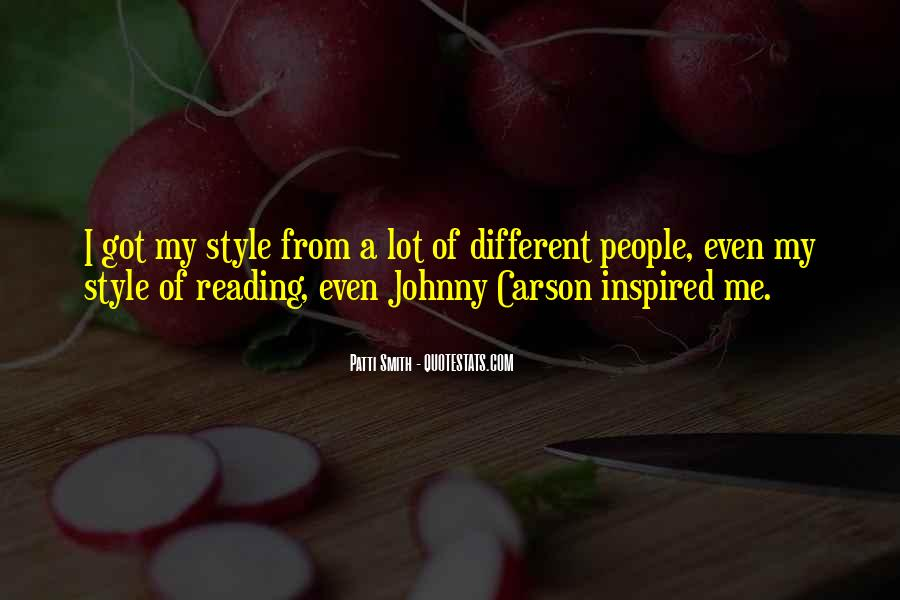 Quotes About Johnny Carson #780542