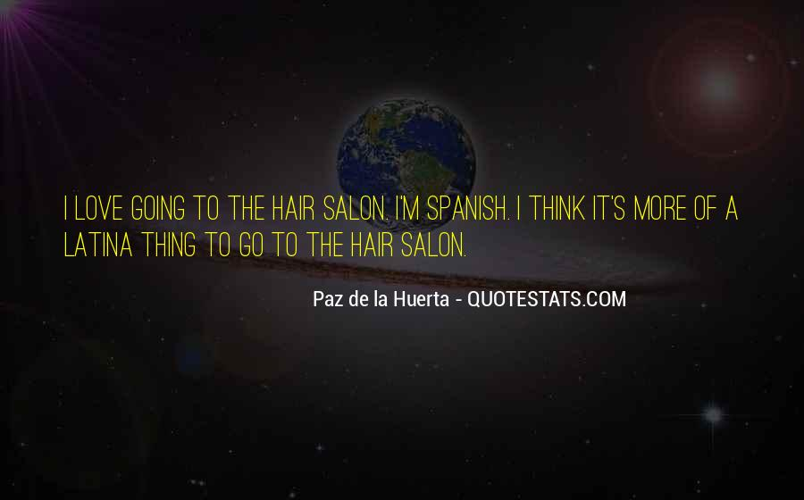 Top 99 Salon Quotes: Famous Quotes & Sayings About Salon