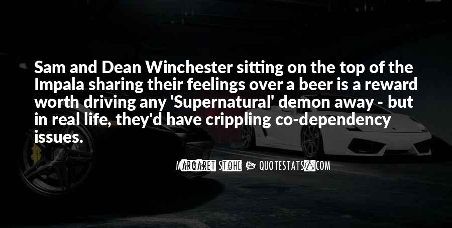 Sam And Dean Quotes #366605