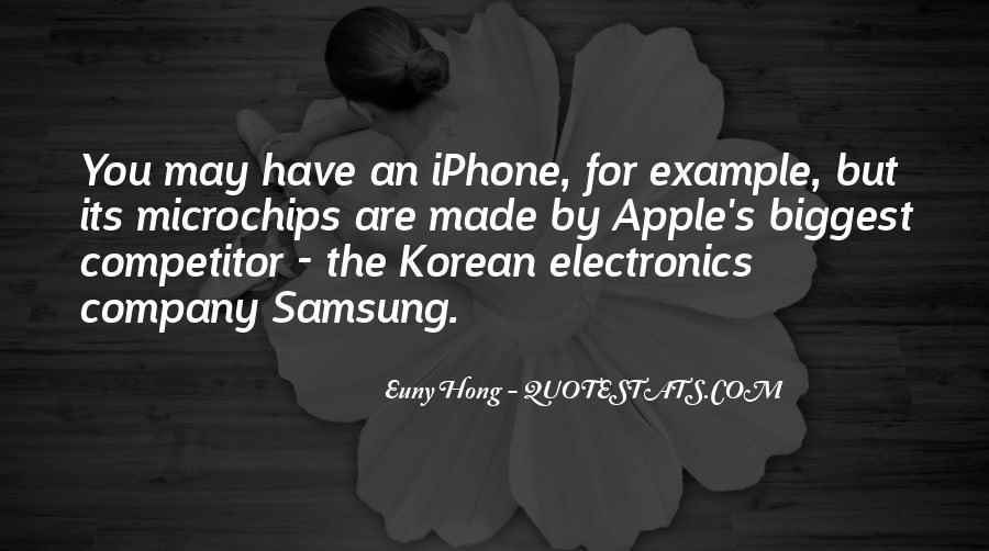 Samsung Vs Iphone Quotes #91054