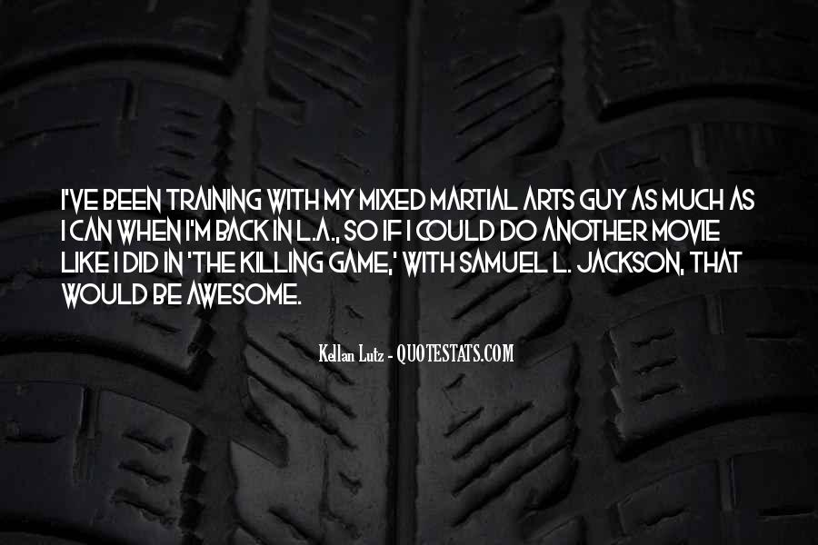 Samuel Jackson Movie Quotes #1430114