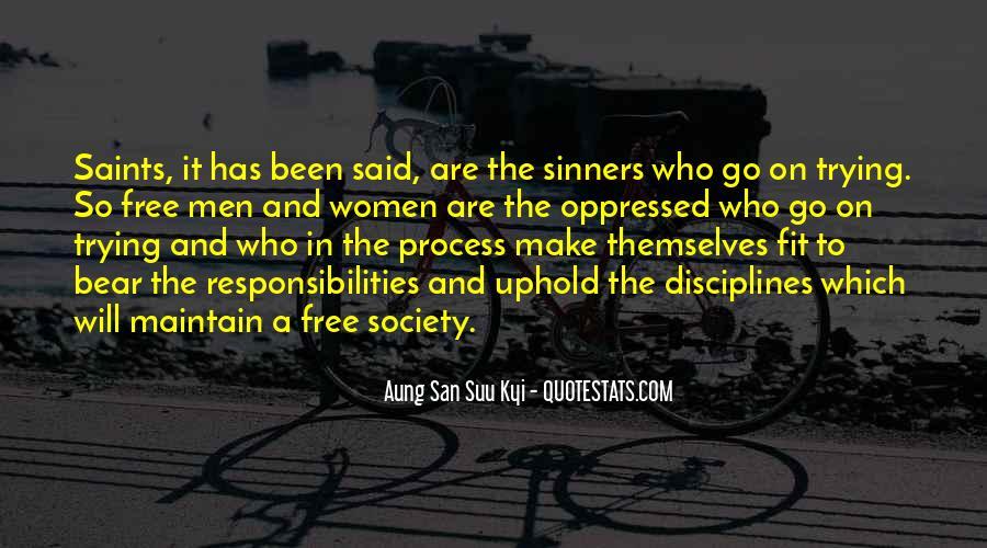 San Suu Quotes #251578