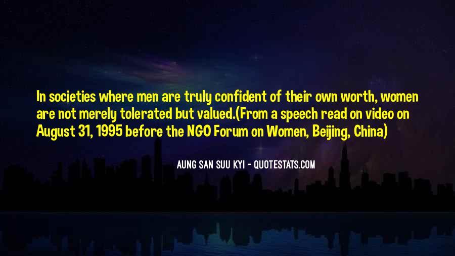 San Suu Quotes #259790