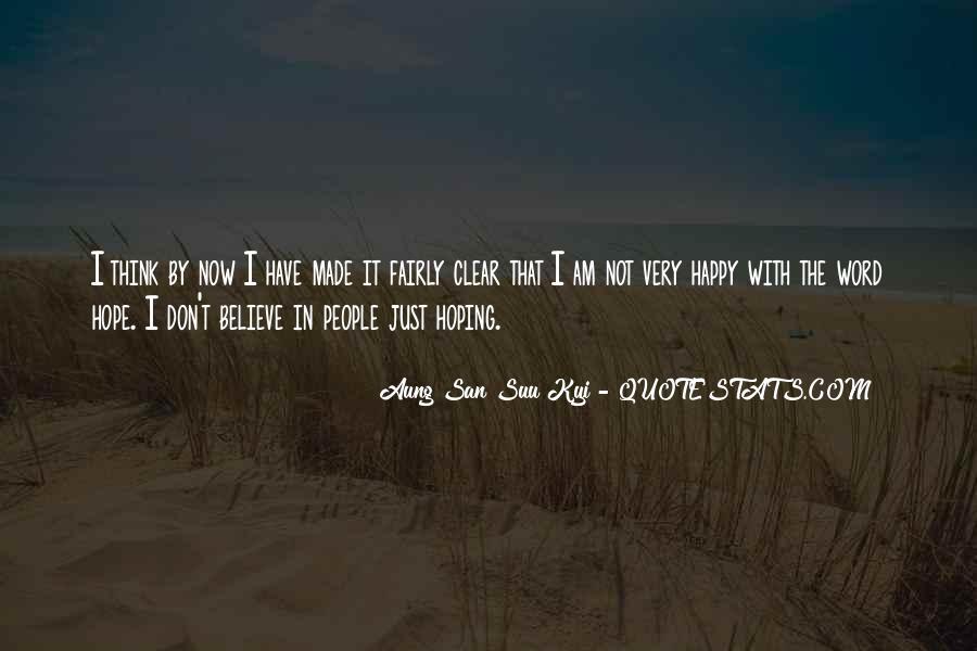 San Suu Quotes #309597