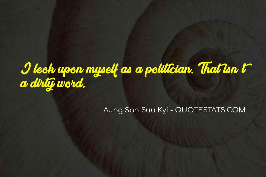 San Suu Quotes #330544