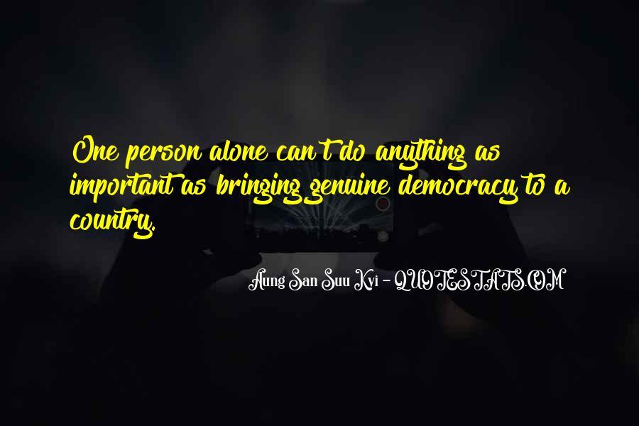 San Suu Quotes #372422