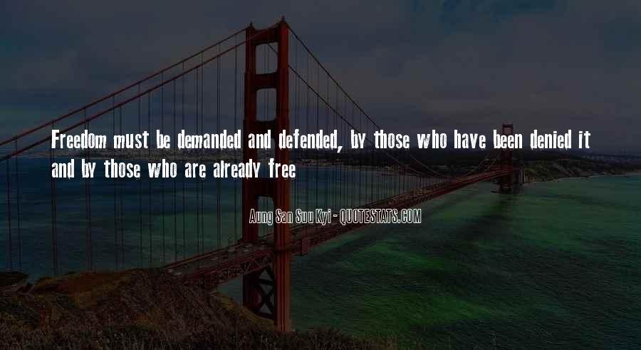 San Suu Quotes #378925