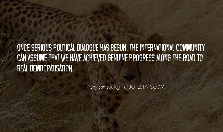 San Suu Quotes #434281