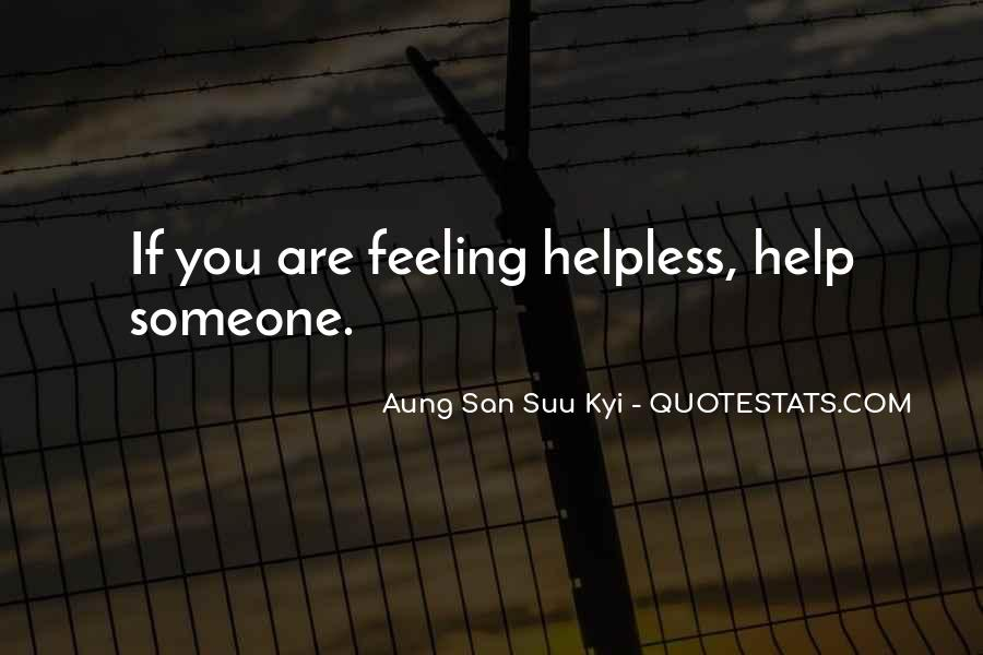 San Suu Quotes #609809