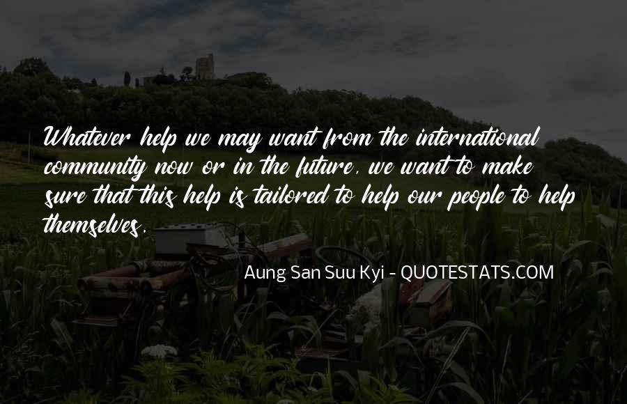 San Suu Quotes #96727