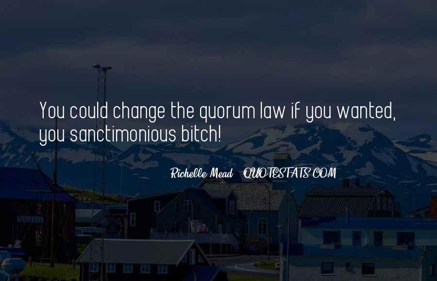 Sanctimonious Quotes #1762143