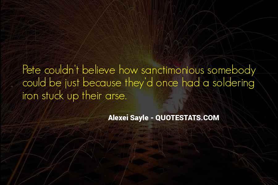 Sanctimonious Quotes #187702