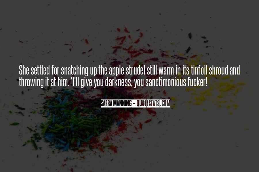 Sanctimonious Quotes #338161
