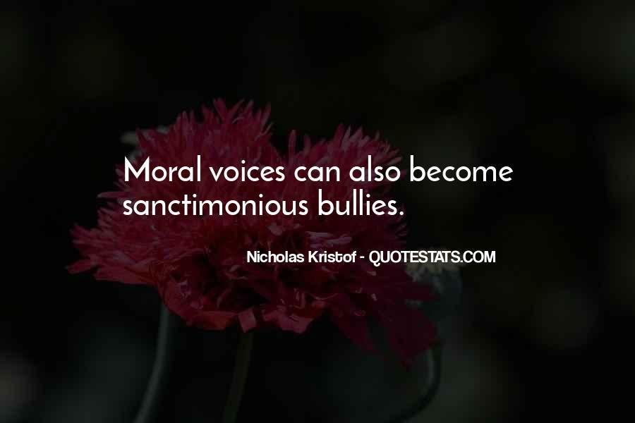 Sanctimonious Quotes #477959
