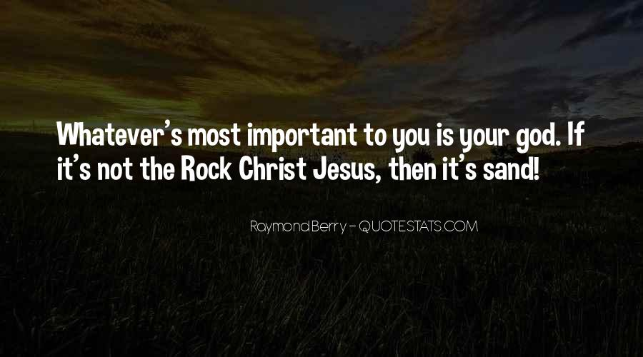 Sand And Rock Quotes #1133923