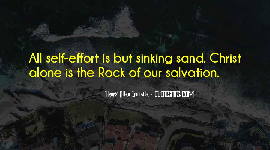 Sand And Rock Quotes #1767752
