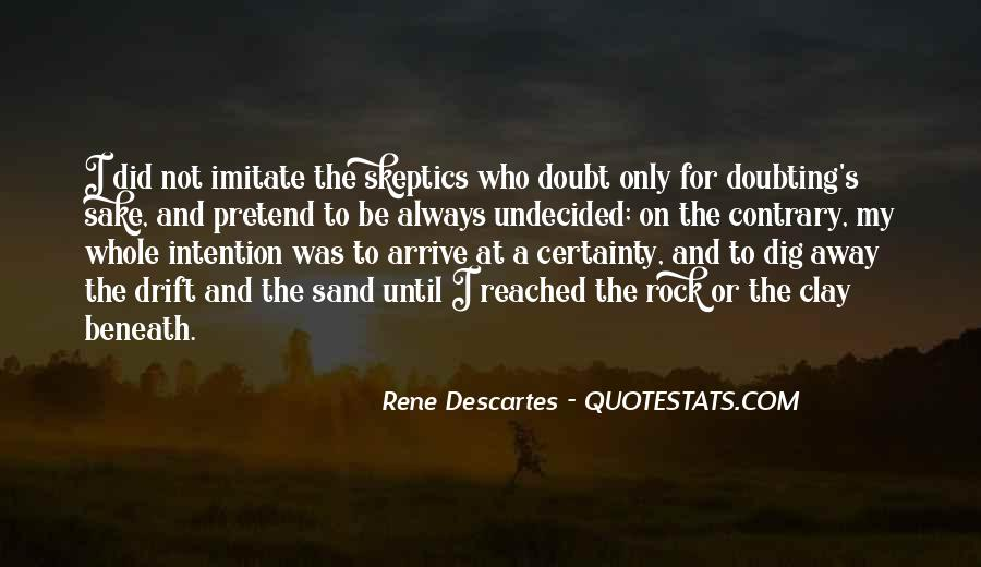 Sand And Rock Quotes #417677