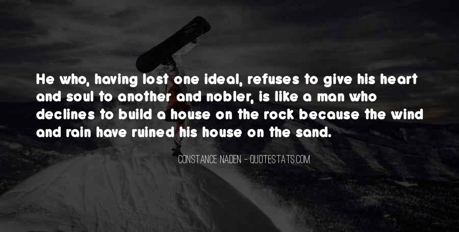 Sand And Rock Quotes #536575